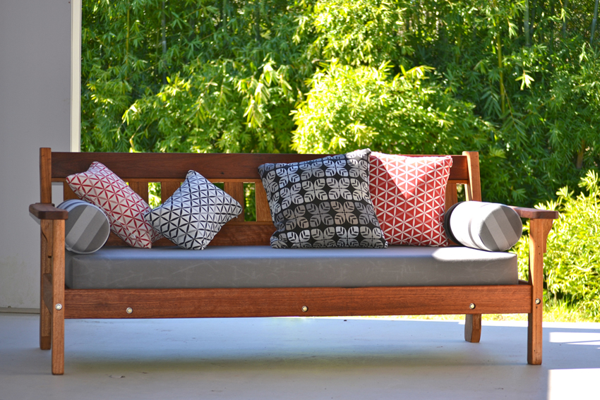Recycled Timber Outdoor Daybeds Australian Recycled Hardwood Sustainable Fu